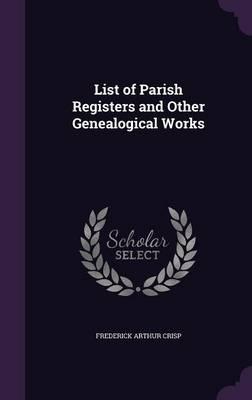 List of Parish Regis...