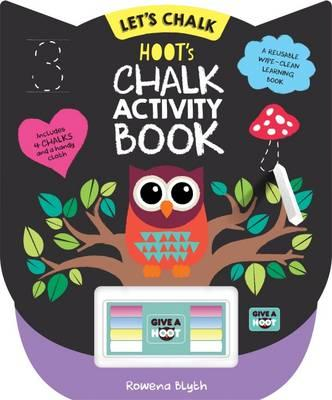 Hoot's Chalk Activity Book (Lets Chalk)