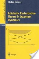 Adiabatic perturbation theory in quantum dynamics