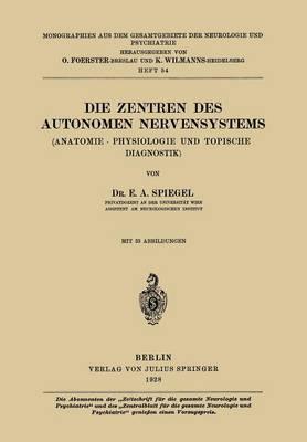 Die Zentren Des Autonomen Nervensystems
