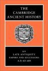 The Cambridge Ancient History Volume 14