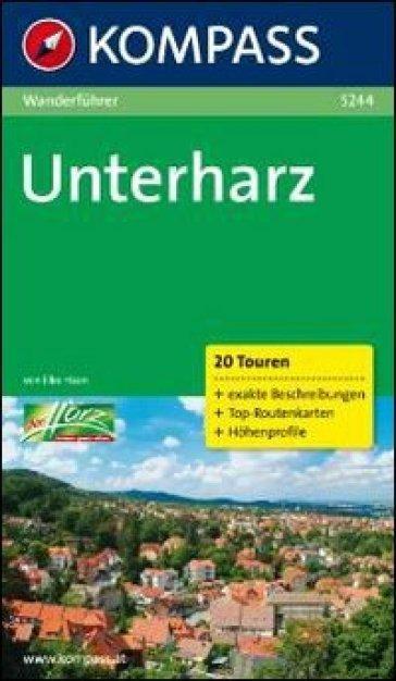 Guida escursionistica n. 5244. Unterharz