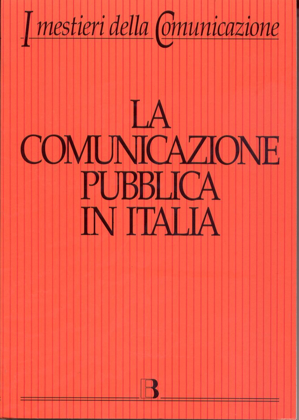 La comunicazione pubblica in Italia