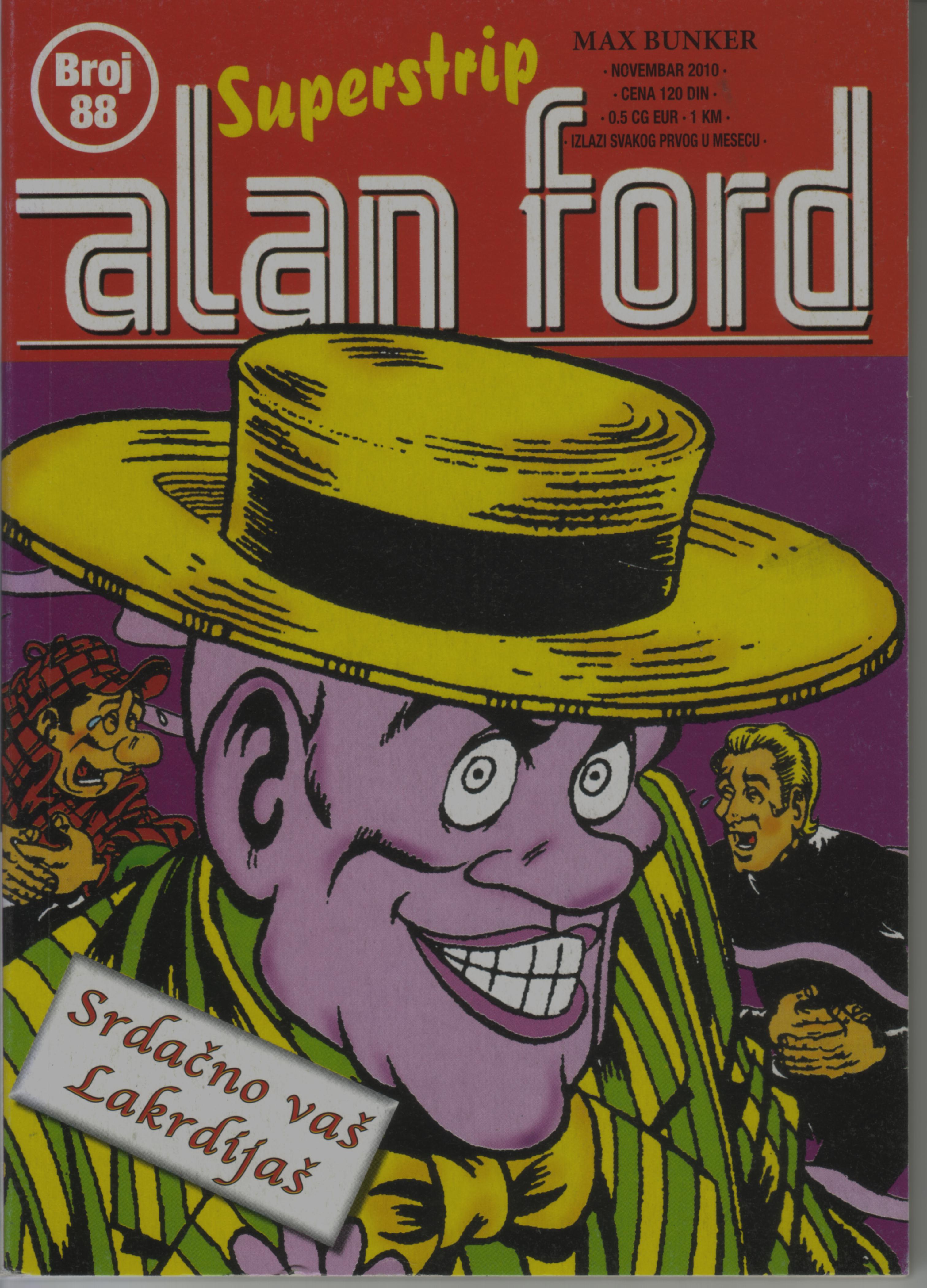 Alan Ford Superstrip #88