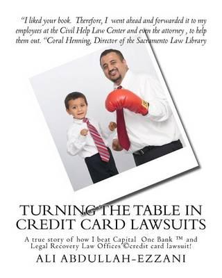 Turning the Table in Credit Card Lawsuits