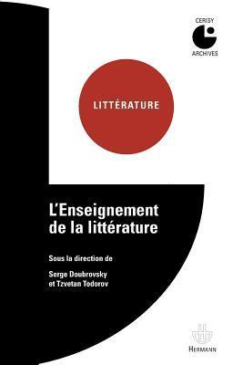L'enseignement de la littérature