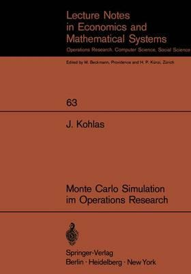 Monte Carlo Simulation Im Operations Research