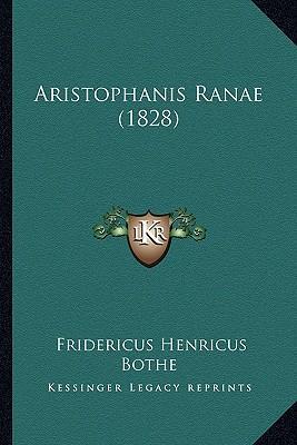 Aristophanis Ranae (1828)