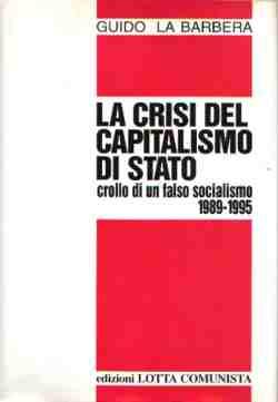 La crisi del capitalismo di stato