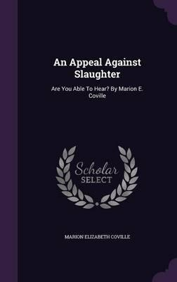 An Appeal Against Slaughter
