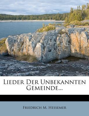 Lieder Der Unbekannten Gemeinde.