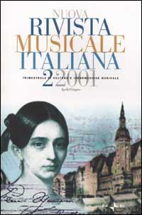 Nuova rivista musicale italiana - n.2/2001