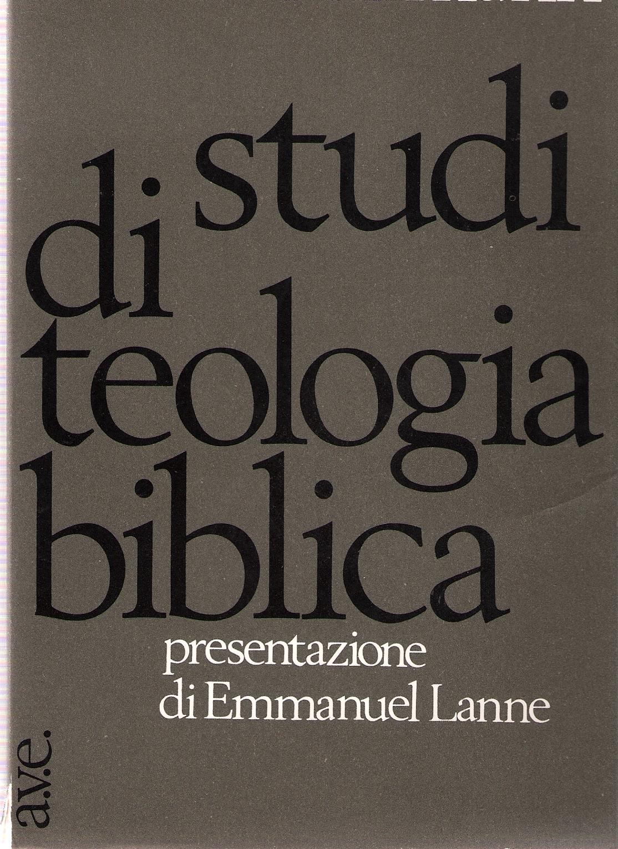 Studi di teologia bi...