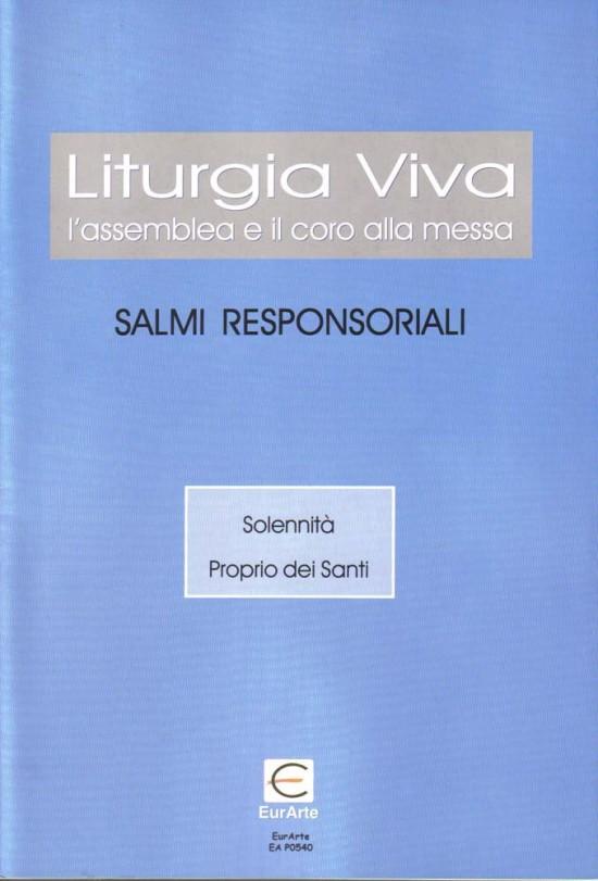 Salmi responsoriali solennità proprio dei santi