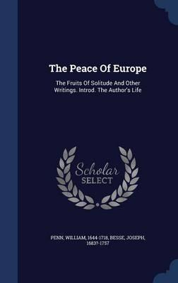 The Peace of Europe