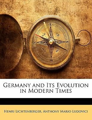 Germany and Its Evolution in Modern Times