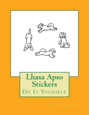 Lhasa Apso Stickers