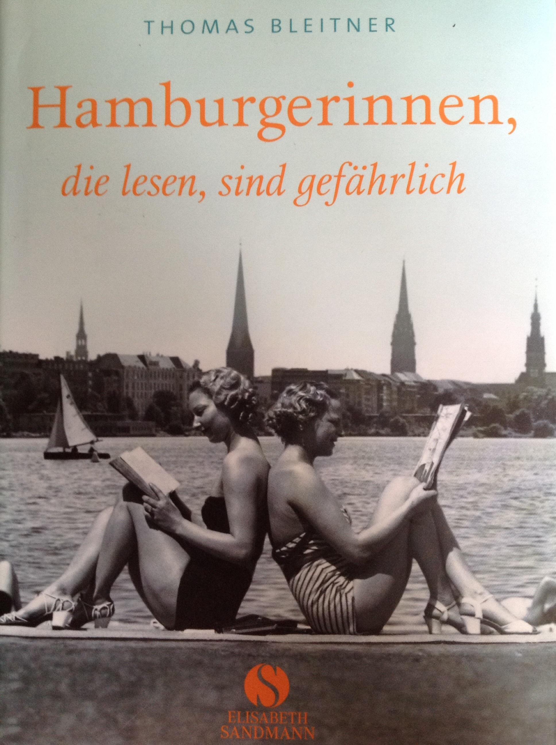 Hamburgerinnen, die lesen, sind gefährlich