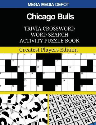 Chicago Bulls Trivia Crossword Word Search Activity Puzzle Book
