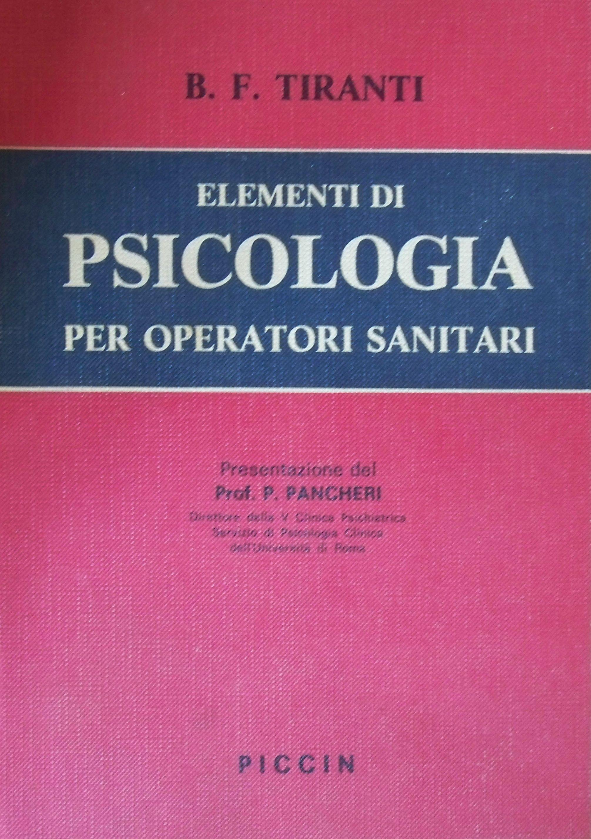 Elementi di psicologia per operatori sanitari
