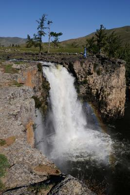 Karakoram Waterfall in Mongolia Journal