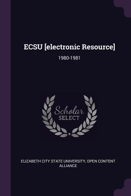 Ecsu [electronic Resource]
