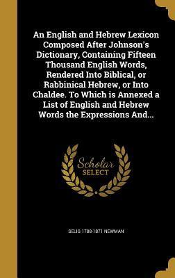 ENGLISH & HEBREW LEXICON COMPO