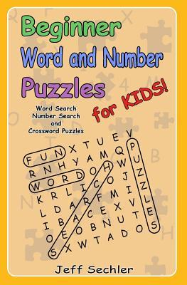 Beginner Word and Number Puzzles for Kids