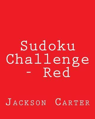 Sudoku Challenge Red