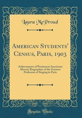 American Students' Census, Paris, 1903
