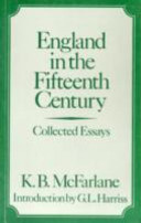 England in the Fifteenth Century