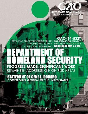 Department of Homeland Security Progress Made