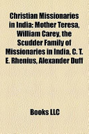 Christian Missionaries in Indi