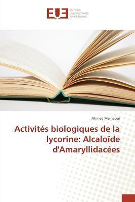 Activites Biologiques de la Lycorine