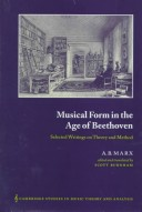 Musical form in the age of Beethoven