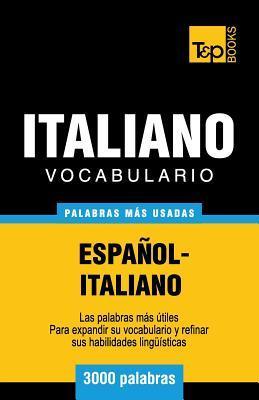 Vocabulario español-italiano - 3000 palabras más usadas