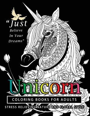 Unicorn Coloring Books for Adults
