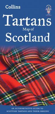 Tartans Map of Scotl...