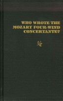 Who Wrote the Mozart Four-Wind Concertante