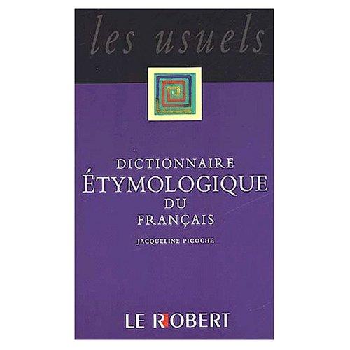 Dictionnaire étymologique poche