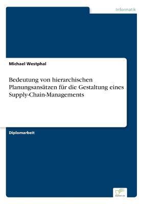 Bedeutung von hierarchischen Planungsansätzen für die Gestaltung eines Supply-Chain-Managements