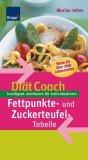 Diaet-Coach-Fettpunkte- und Zuckerteufel-Tabelle