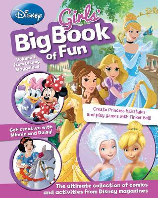 Disney Girls' Big Book of Fun