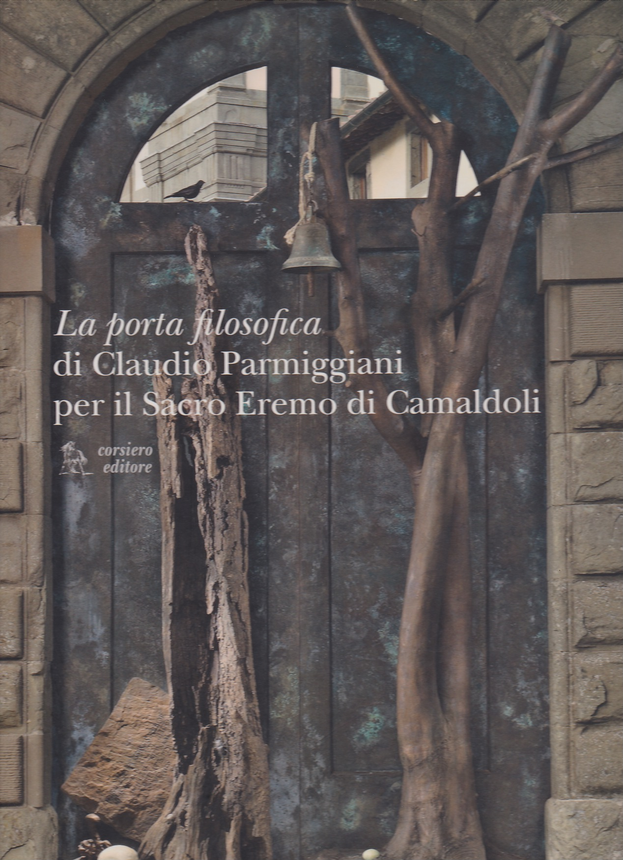 La porta filosofica di Claudio Parmiggiani per il Sacro Eremo di Camaldoli