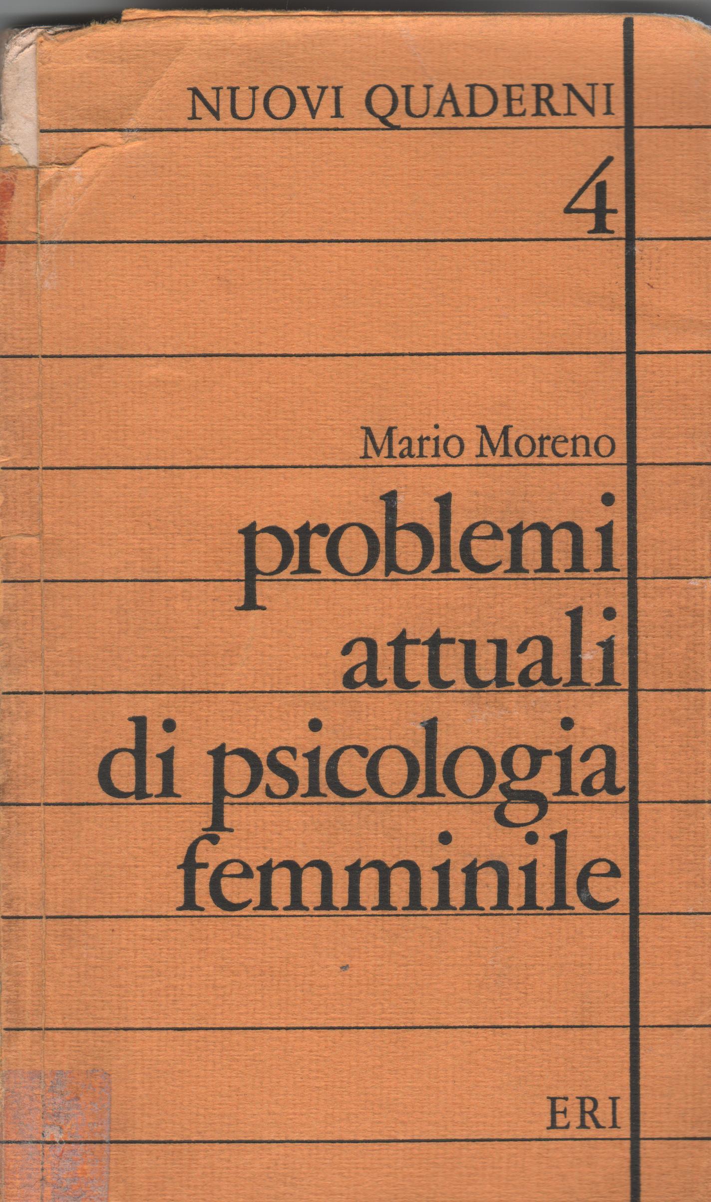 Problemi attuali di psicologia femminile