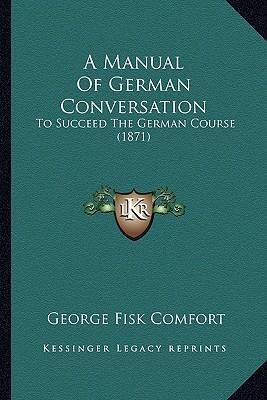 A Manual of German C...