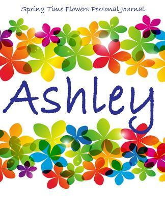 Spring Time Flowers Personal Journal Ashley