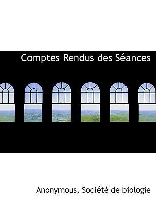 Comptes Rendus Des S Ances