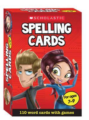 Scholastic Spelling Cards