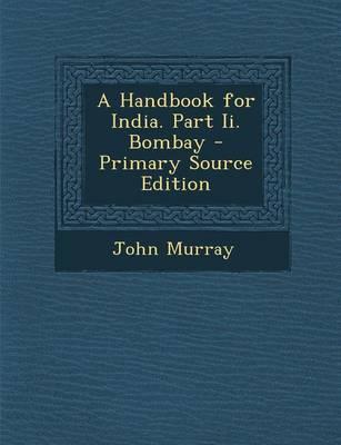 Handbook for India. ...